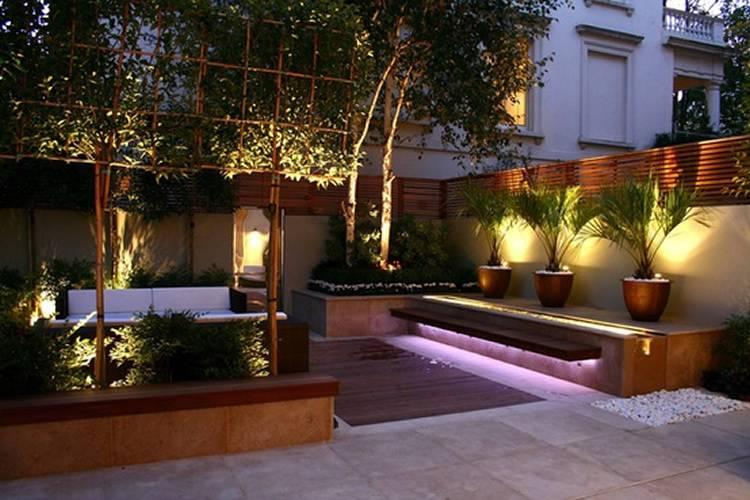 Consejos para iluminar jardín de una vivienda