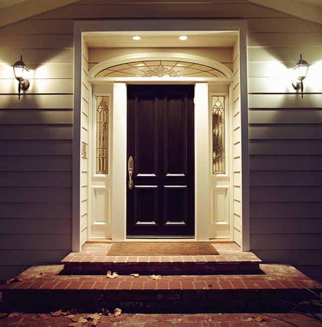 Consejos para iluminar zona de acceso exterior vivienda