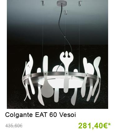 Lámpara colgante EAT 60 Vesoi últimas unidades