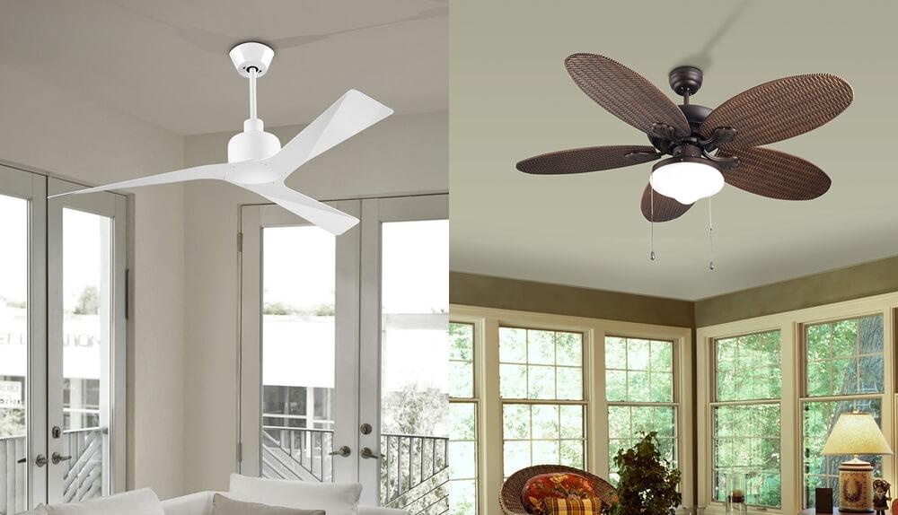 lamparas y luz - Ventiladores de techo