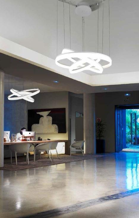 Lámpara Interior Colgante LED Circ 67W ...