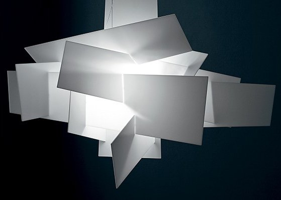 Repuesto set pantallas big bang blanco foscarini - Lampara big bang foscarini ...