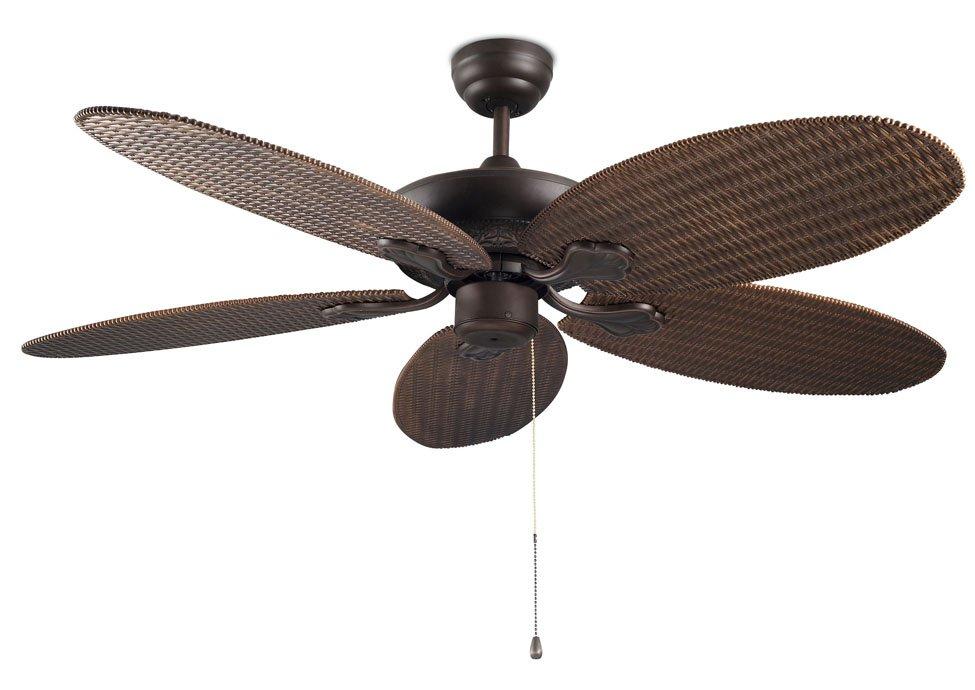 Leds c4 phuket ventilador techo leds c4 lamparas y luz - Precios ventiladores de techo ...
