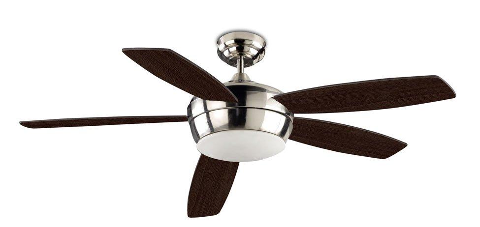 Leds c4 samal ventilador techo wengue leds c4 lamparas - Ventilador de techo silencioso ...